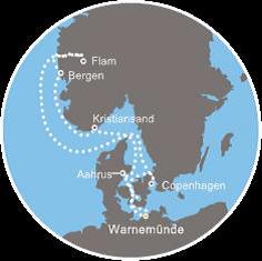 Crociera nei fiordi norvegesi dal 31 agosto al 7 settembre for Emirati franchigia bagaglio in cabina in classe economica